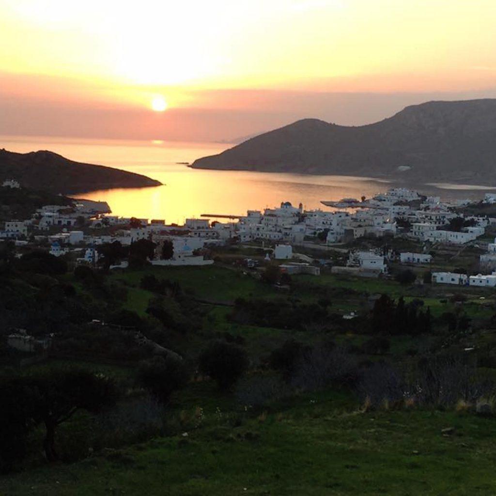 Lipsi Island Greece Map